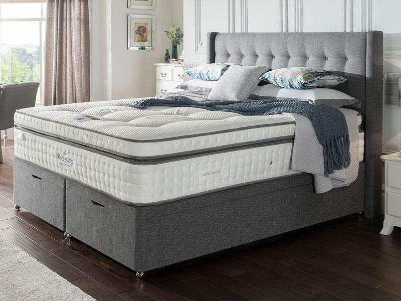 the sleep shop silentnight anniversary mirapocket geltex. Black Bedroom Furniture Sets. Home Design Ideas