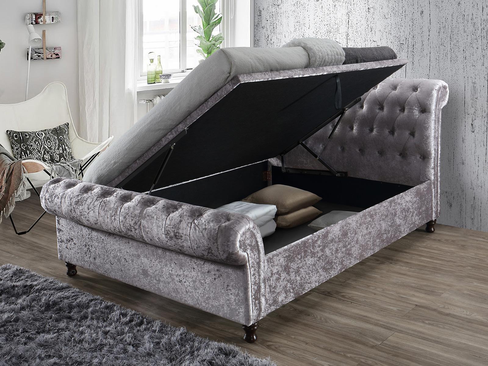 The Sleep Shop 5ft King Size Birlea Castello Ottoman Bed