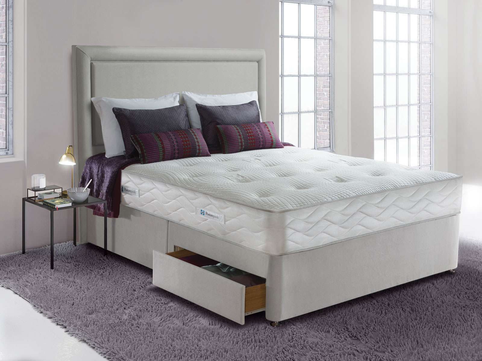 6ft Super King Size Sealy Jubilee Ortho Posturepedic