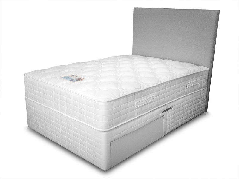 5ft king size sleep shop ortho supreme divan set from the for King size divan set
