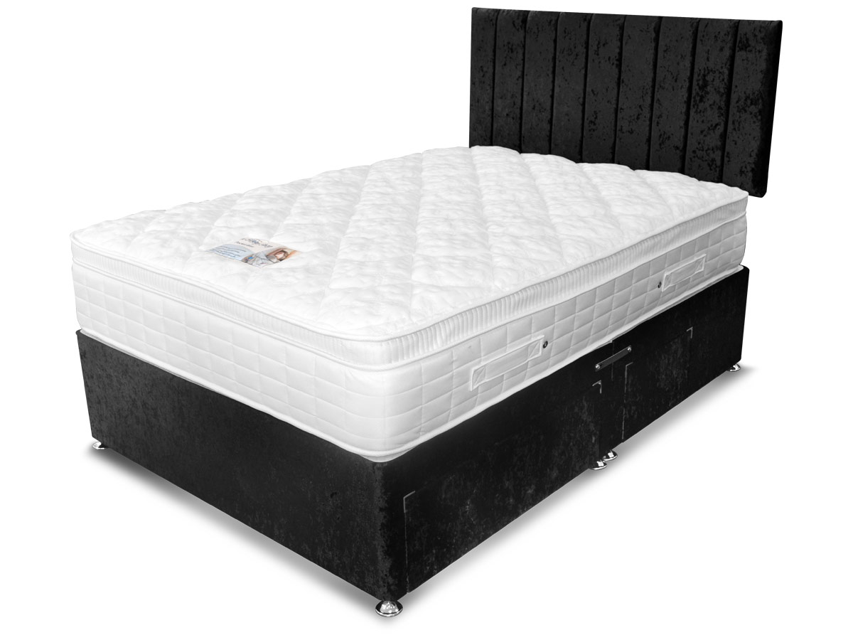 3ft Single Sleep Shop Pocket Bliss Supreme Mattress From