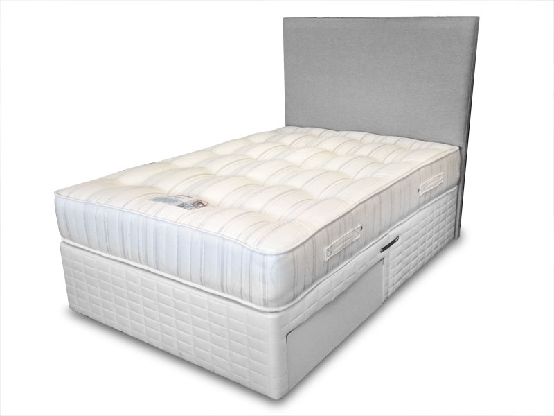 4ft small double sleep shop pocket supreme 2015 divan set for Small double divan set