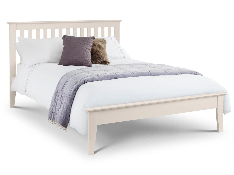 The Sleep Shop 4ft6 Double Julian Bowen Salerno Shaker Bed