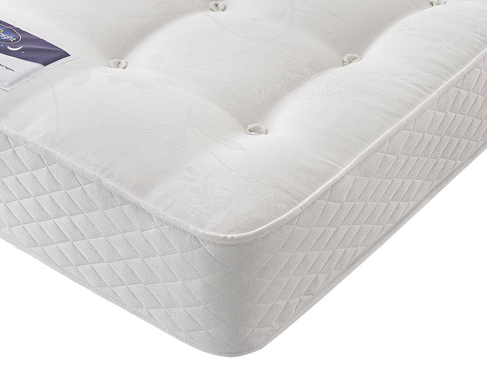 the sleep shop 4ft6 double silentnight miracoil ortho mattress. Black Bedroom Furniture Sets. Home Design Ideas