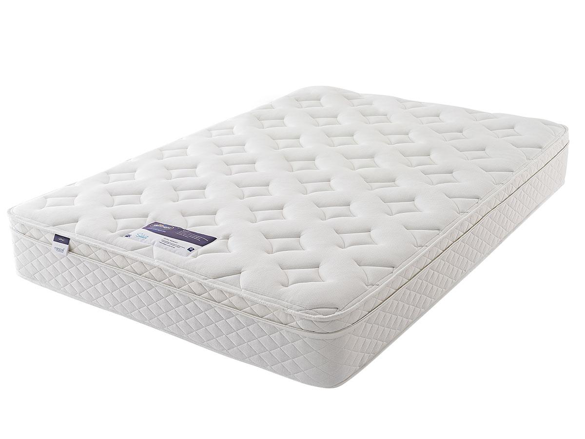 3ft single silentnight miracoil memory cushion top. Black Bedroom Furniture Sets. Home Design Ideas