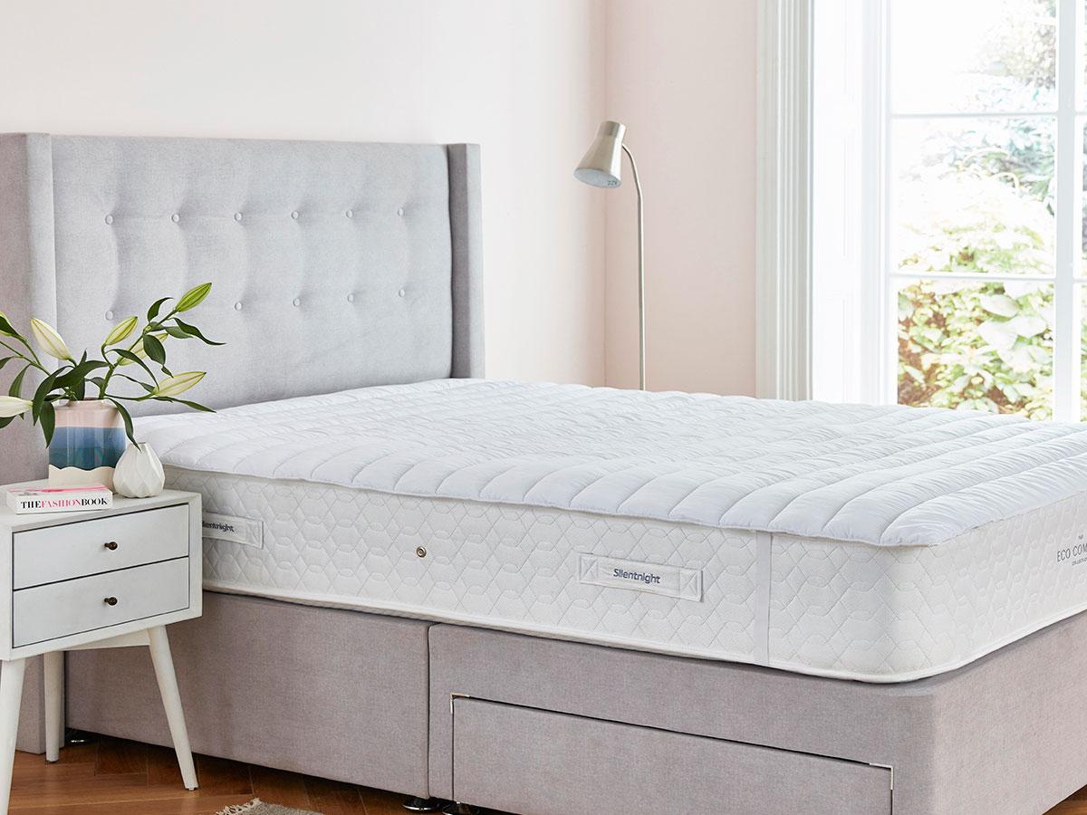 The Sleep Shop 4ft6 Double Silentnight Deep Sleep Luxury