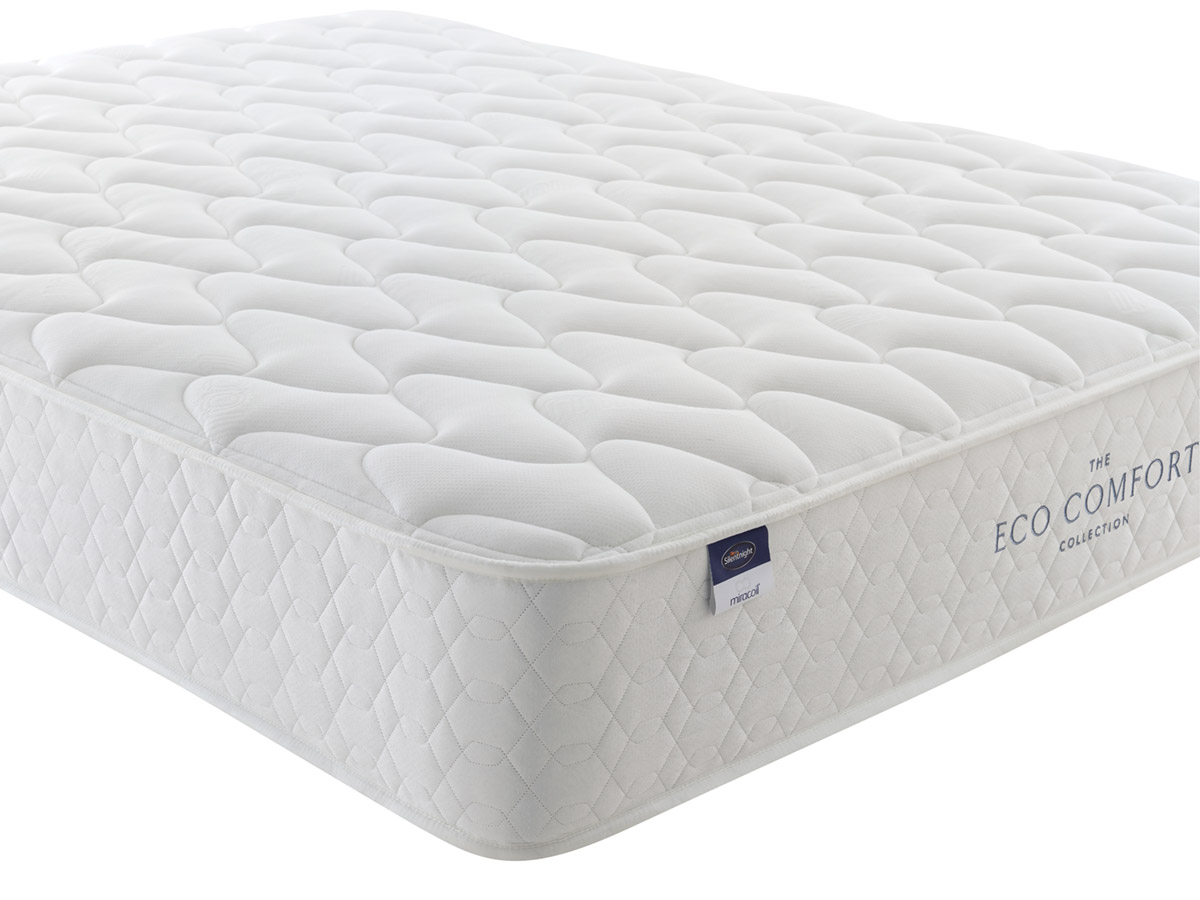 The Sleep Shop 5ft King Size Silentnight Eco Comfort