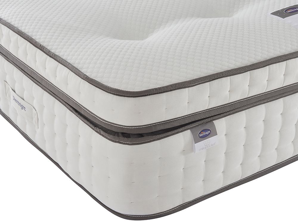 The Sleep Shop 4ft6 Double Silentnight Geltex Pocket Ultra