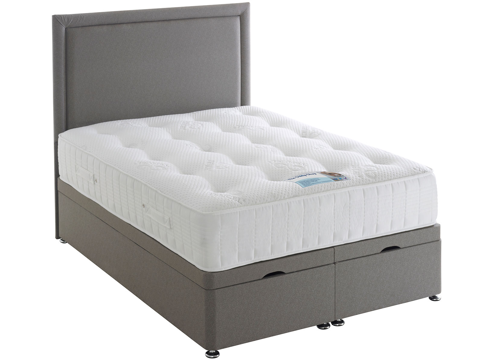 4ft6 Double Sleep Shop Tencel 1000 Supreme Mattress From
