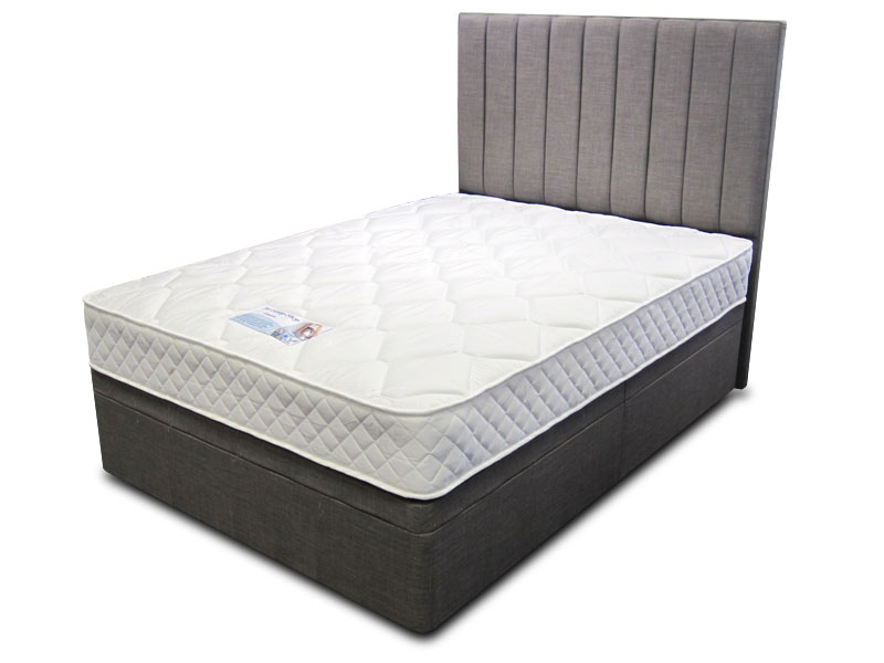 5ft king size sleep shop classic divan set from the sleep shop for King size divan bed without mattress