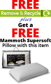 FREE Collect & Recycle PLUS FREE Pillows