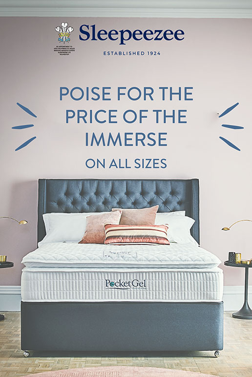 Sleepeezee Immerse for the Price of Balance Mattress