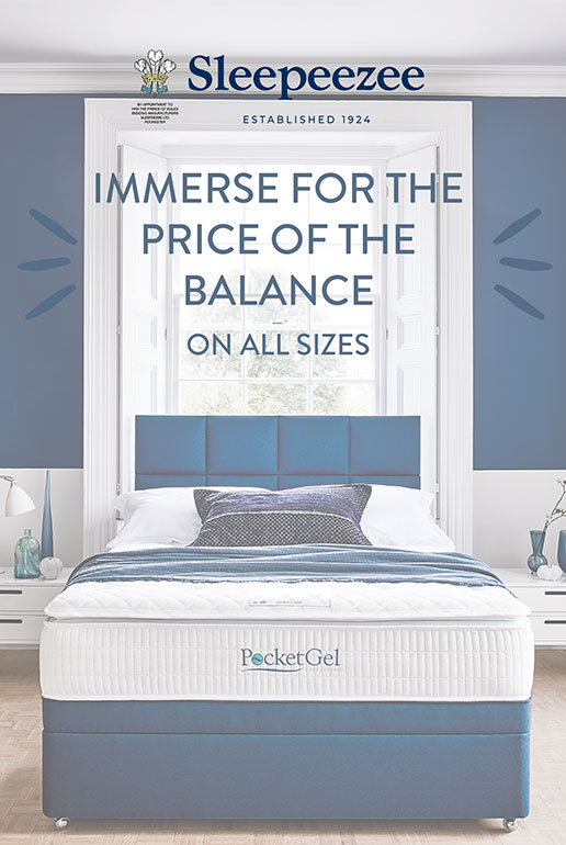 Sleepeezee Poise for the Price of Immerse Mattress