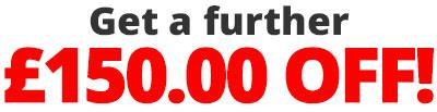 £150 OFF